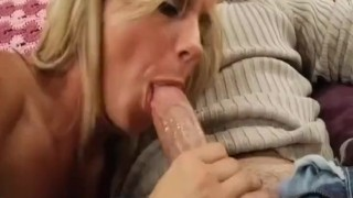 Funny Blowjob from Ex