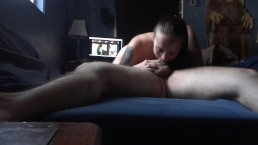 Christmas 69 with oral creampie and cum swallow