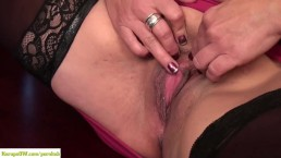 Roxy Jennings Masturbates Mature Pussy On Desk