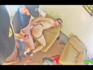 Seed Him – College Jock And Yuck Take Turns Breeding A Smooth White Twink