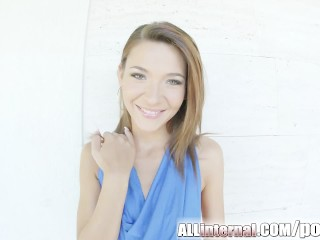 All Internal Huge cumshot dumped in teen Alexis Brill pussy