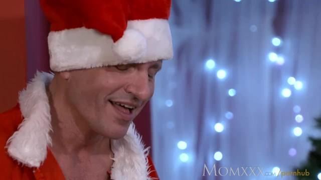 Mrs bianca and naked Mom santas bad brother fucks mrs clause