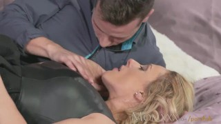 MOM Guy gives his friends Mom a good fucking before creampie Deep big