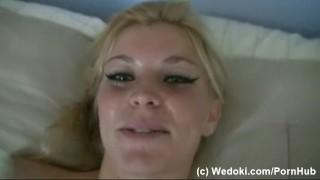 Masturbate with blonde and masturbate anal vibrator slut silver pussy blonde