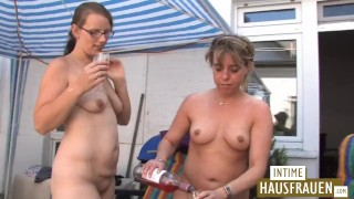 Pussy on roof the terrace hot lesbian small