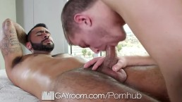 GayRoom - Ian Levines Bubble Butt Fucked Hard by Rikk York