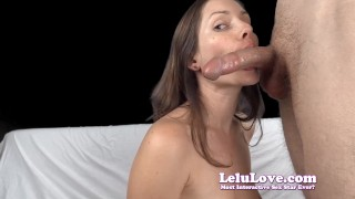 lelu love topless blowjob tube