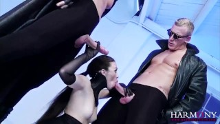 Screen Capture of Video Titled: HARMONY VISION Anal Tiffany Doll