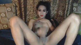 Nasty Shemale Babe Masturbation Show Cosplay young