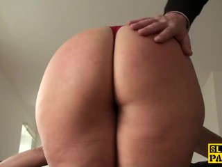 Milf hunter rub and tug