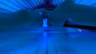 Screen Capture of Video Titled: CAUGHT WIFE MASTURBATE SUNHOUSE