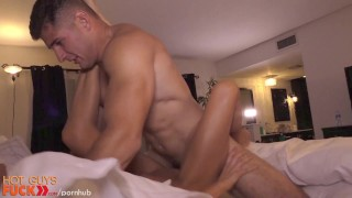 Dumb blonde gets drilled by fit straight guy. Adult kink