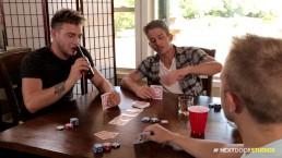 NextDoorBuddies Playing REAL HARD Poker