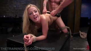 New Slave Tries To Suck And Fuck