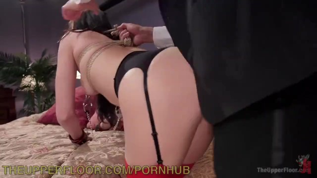 Upper class escorts New girl punished by butler and anal whore