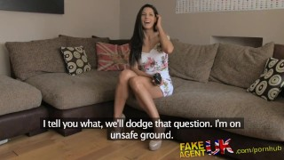 Preview 3 of FakeAgentUK Office sex for sporty Spanish babe