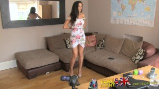 Preview 4 of FakeAgentUK Office sex for sporty Spanish babe