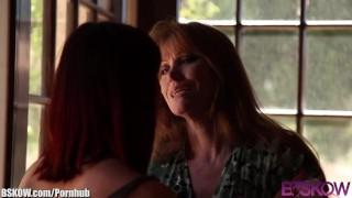 Lesbian bskow trib and crane lick darla milf redhead licking