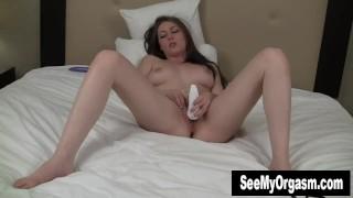 Her megan vibrates busty twat body breasts