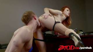 Ztod wants employees karlie cock montana her blowjob tits