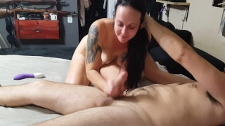 His into squirt creampie my mouth from cum he i it swallows anal the ass milf atm