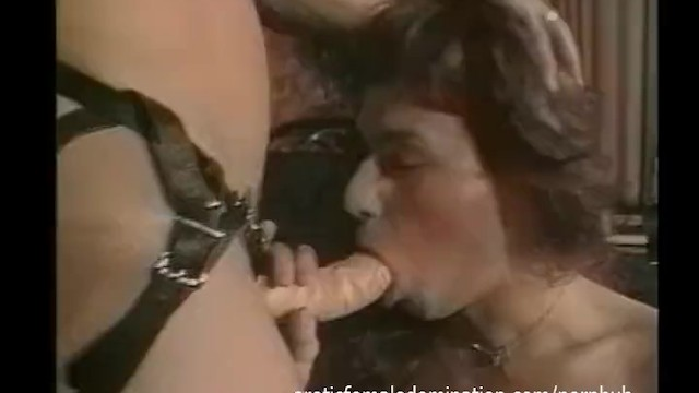 Fetishistic transvestite Teen transvestite transformed and dominated by a couple