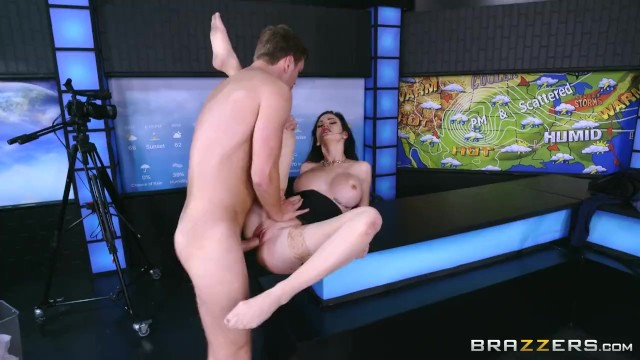 Andrea lowell naked weather - Kendall karson fucks the weather man - brazzers