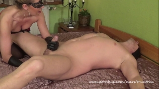 wax and handjob