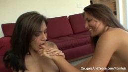 Yoga instructor MILF fucks her sexy new student