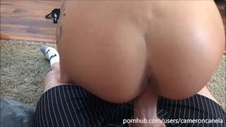 Cameron cam's lucky subscriber couch on fucks canela casting fucks