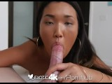 Exotic4K - Cute asian Amy Parks gets her tits in hot soapy water