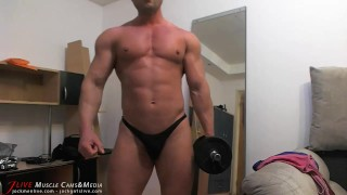 Muscle Chat Spy Cam Jerk