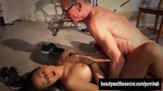 Sexy Anina Fucked By Old Man John