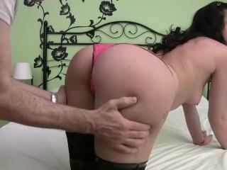 Homemade fake a horny spanish babe...