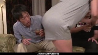 Strong Asian gangbang sex scenes along Ryoko Murakami