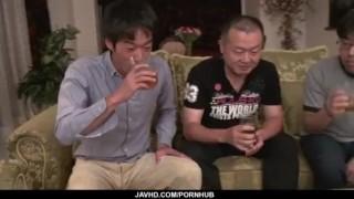 Gangbang asian along sex strong scenes murakami ryoko action boobs