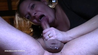 Passionate Monster Creampie and Oral creampie - He came twice :) Blowjob cock