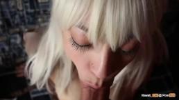 Slow And Sensual Blowjob With Cumshot Kawaii_Girl
