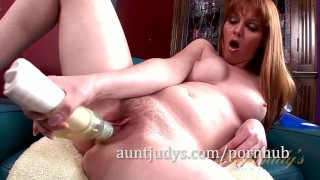 With a mccray marie over vibrator her pussy works auntjudys auntjudys.com