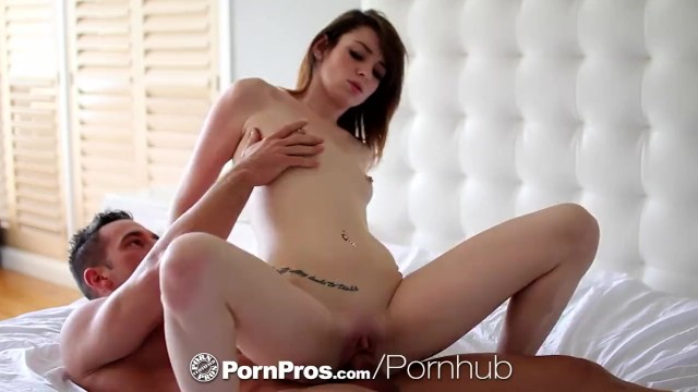 PornPros - Tall brunette Naveen Ora gets wet and ready for her man 20