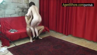 Interview chubby whore and teases dances for after sportsman agentwhore bts