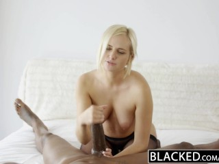First time she held my cock