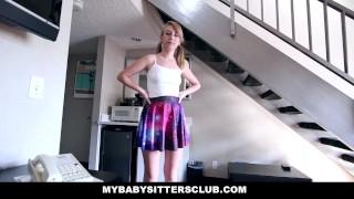 MyBabySitters - Cute Young Babysitter Fucks Dad Big butt