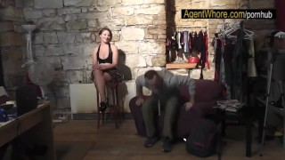 Guy porn sexy clip about backstage interview does in czech bts
