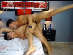 Hot Colombian Guys Hardcore Fuck On Cam