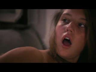 Preview 4 of Adèle Exarchopoulos and Léa Seydoux lesbian scene tribbing