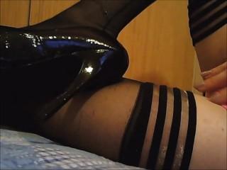 Amytransex high heels fetish ,wichs mit mir zusammen auf mein fuss