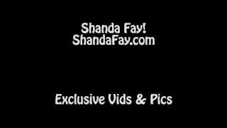 Shanda Fay Gets Fucked With Dick & Fuck Machine!
