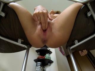 POV triple orgasm and squirt