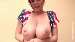 Tessa Fowler Happy 4th of July Video _ the daily Huge Tits Nude Babes blog